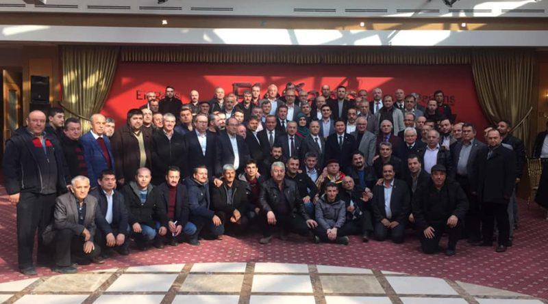 Millet İttifakı Belediye Başkan Adayları tanıtımı ve yöre sorunları toplantısı
